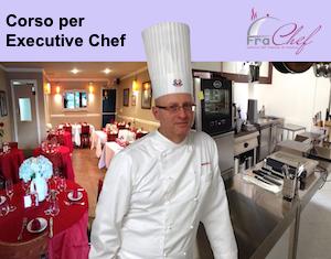 Copertina ufficiale del corso per aspiranti Executive Chef.
