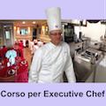 La locandina del corso per aspiranti executive chef.