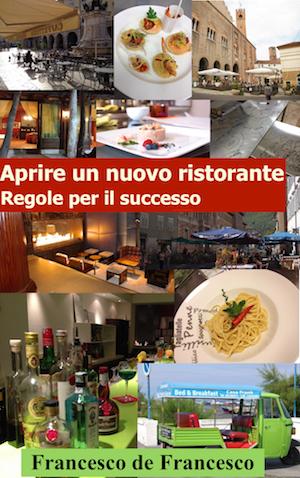 La copertina del libro Avviare un ristorante.