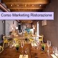 La locandina del corso di Marketing per la Ristorazione.