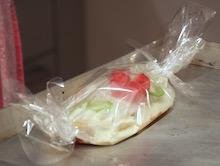 Una crêpe vegetariana in Carta Fata.