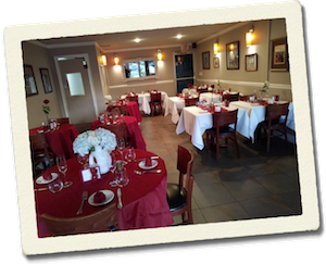 Una sala di un ristorante, dove fuoi Restaurant Coach anni fa.