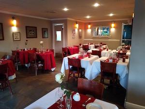 Una parte della sala del ristorante Côté Gourmet, acquistato e riorganizzato a Miami, in Florida