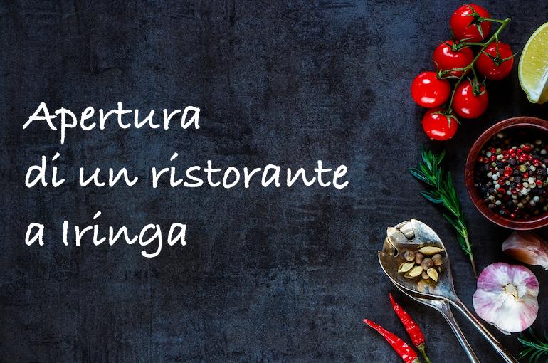 Il racconto dell'apertura di un ristorante ad Iringa, in Africa.