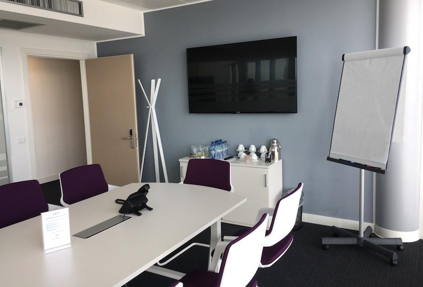 L'aula dove tengo i corsi di management della ristorazione.