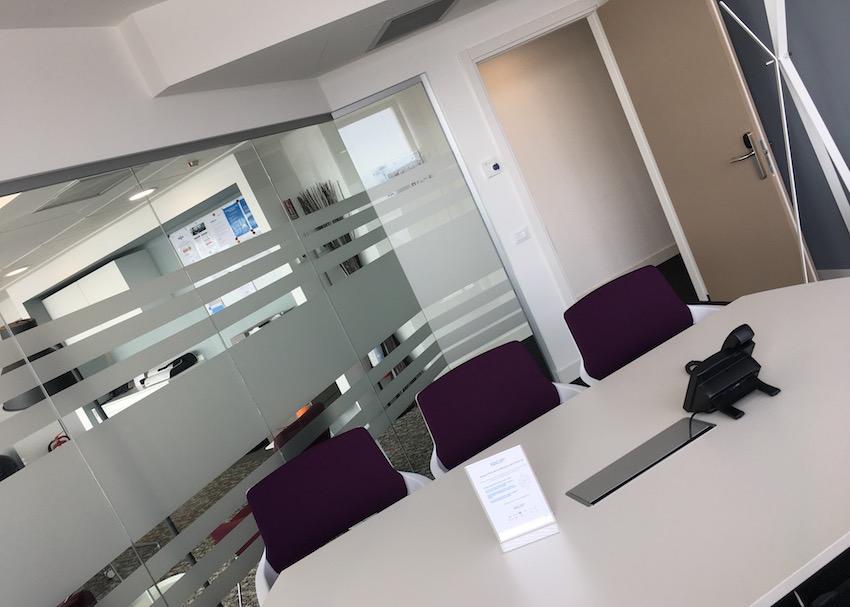 L'aula in cui si tengono i corsi di management della ristorazione di frachef.