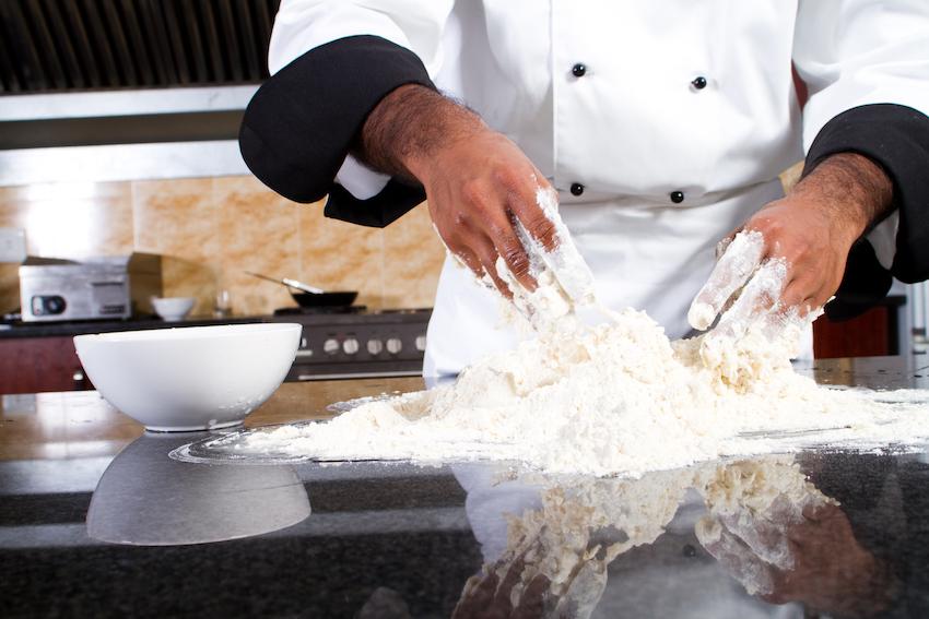 Un personal chef in azione, con la consulenza di Francesco de Francesco.