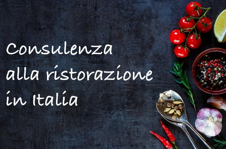 La mia consulenza ristorazione in tutta l'Italia, assieme alla formazione sulla cucina professionale.