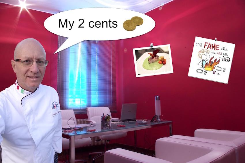 Copertina ufficiale dei corsi di ristorazione e cucina online che ho chiamato Frachef: my 2 cents.