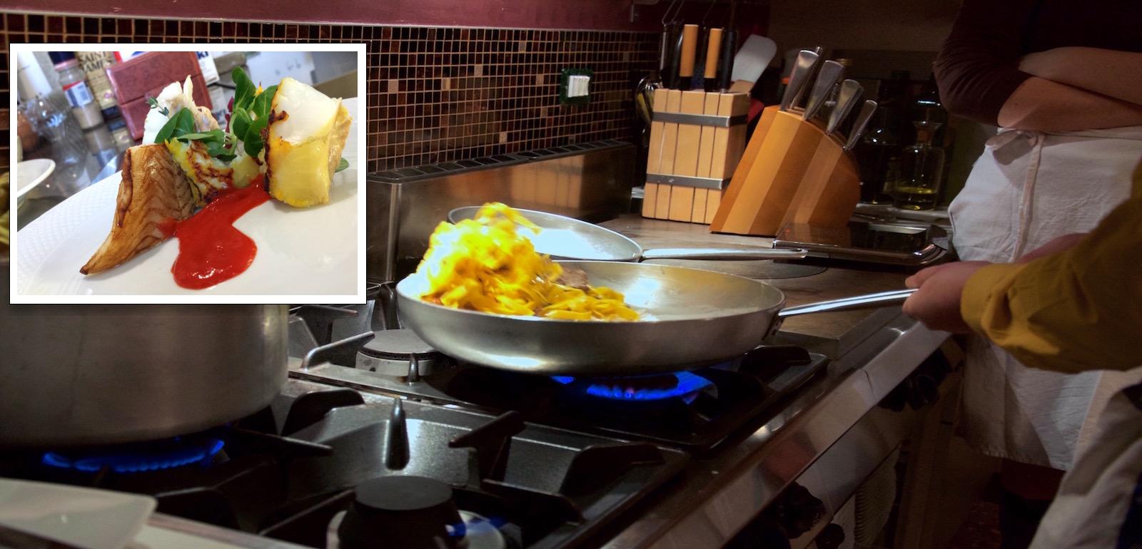 Col corso di cucina amatoriale personalizzato realizzi il tuo sogno e cucini come un cuoco.