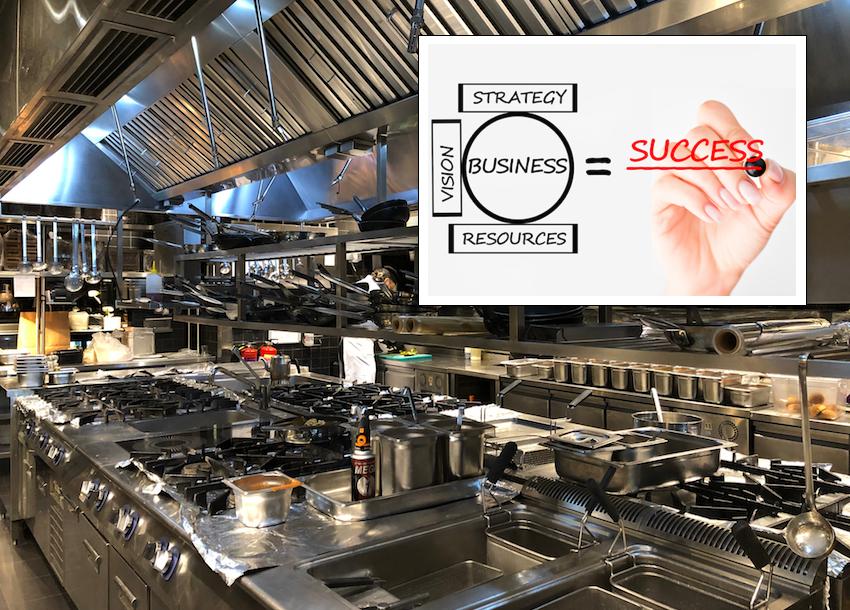 La copertina ufficiale del corso per Executive Chef.