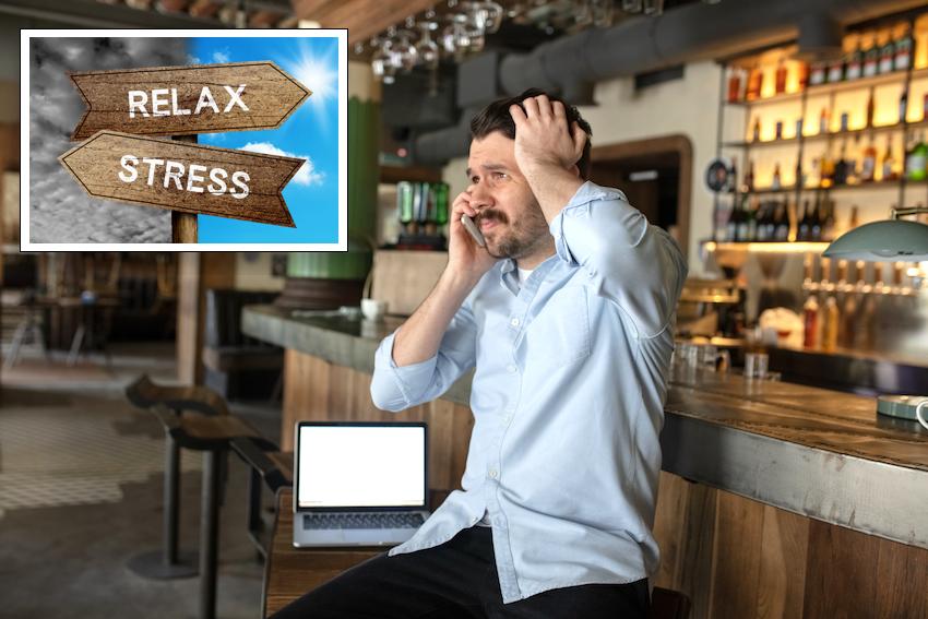 Copertina ufficiale del corso di gestione dello stress nella ristorazione.