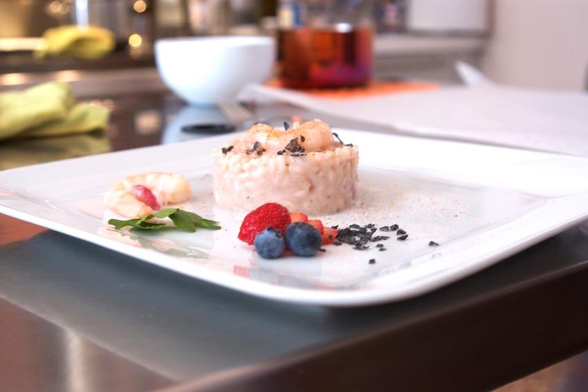 Il corso sui risotti, imperdibile per gli appassionati della cucina gourmet.