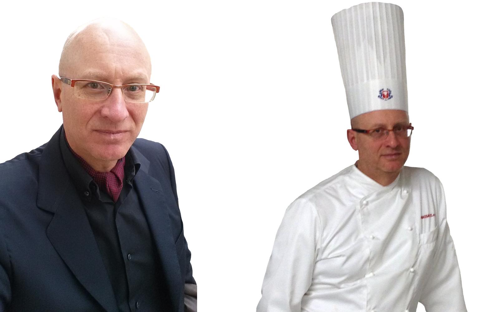 L'Executive Chef Francesco de Francesco, docente del corso di marketing della ristorazione.