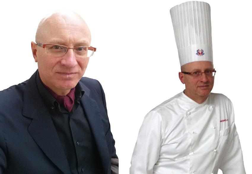 L'Executive Chef Francesco de Francesco, docente del corso di restaurant management.