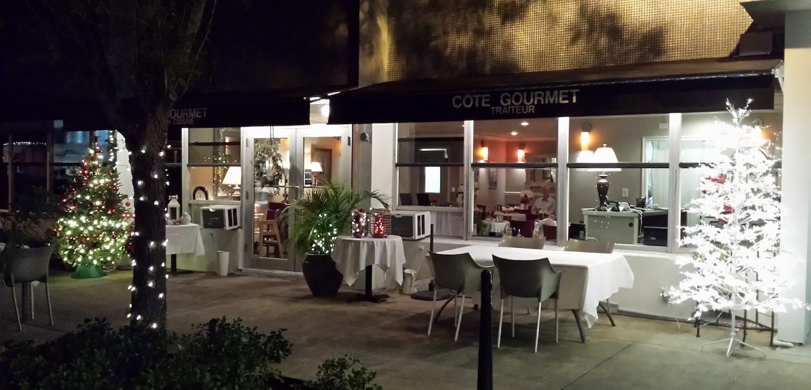 L'esterno del Côté Gourmet, in Florida.