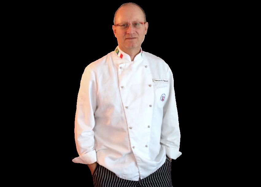 Foto dell'executive chef Francesco de Francesco.