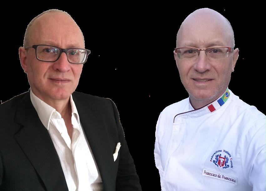 L'executive chef Francesco de Francesco, consulente per la ristorazione ed i business plan.