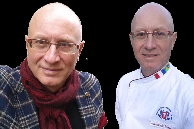 Il docente di questo piano di formazione sul campo nella ristorazione, l'executive chef Francesco de Francesco.