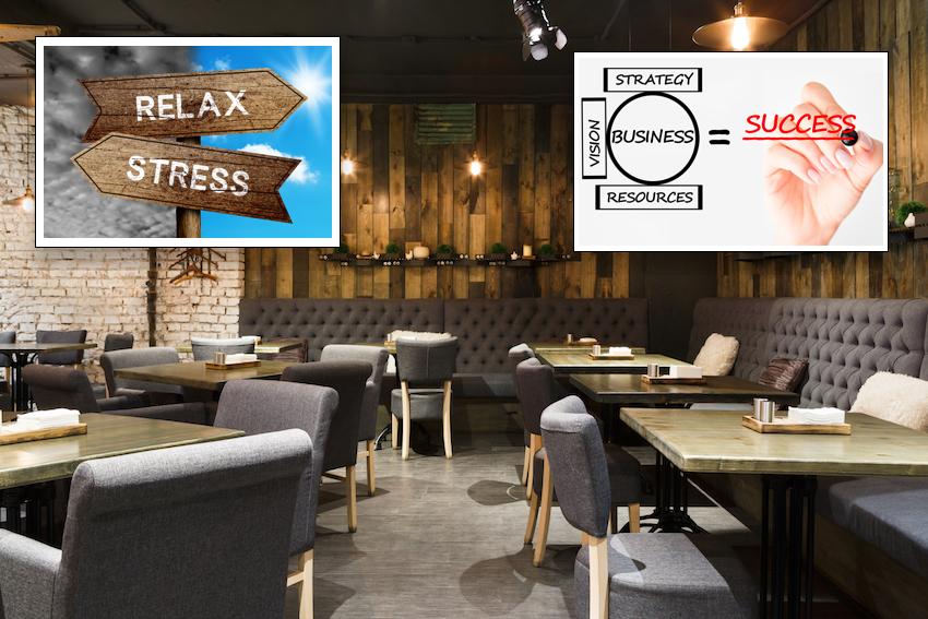 Una gestione del ristorante con tecniche olistiche, basate sulla ristorazione e sulla crescita personale.