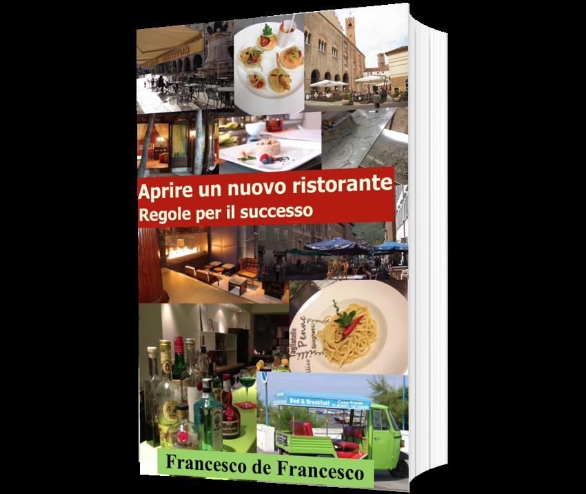 La copertina del libro Aprire un nuovo ristorante.