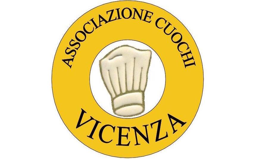 Il logo dell'Associazione Cuochi Vicenza, di cui faccio parte.