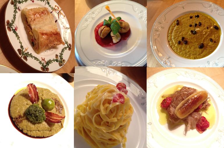 Piatti fatti in Austria quando vi lavoravo come personal chef.