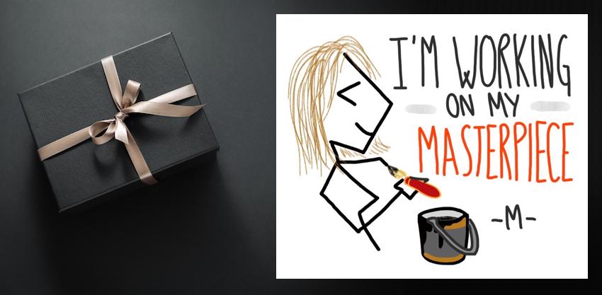Il disegno di Maria Majorana che rappresenta la missione del Restaurant Coach.
