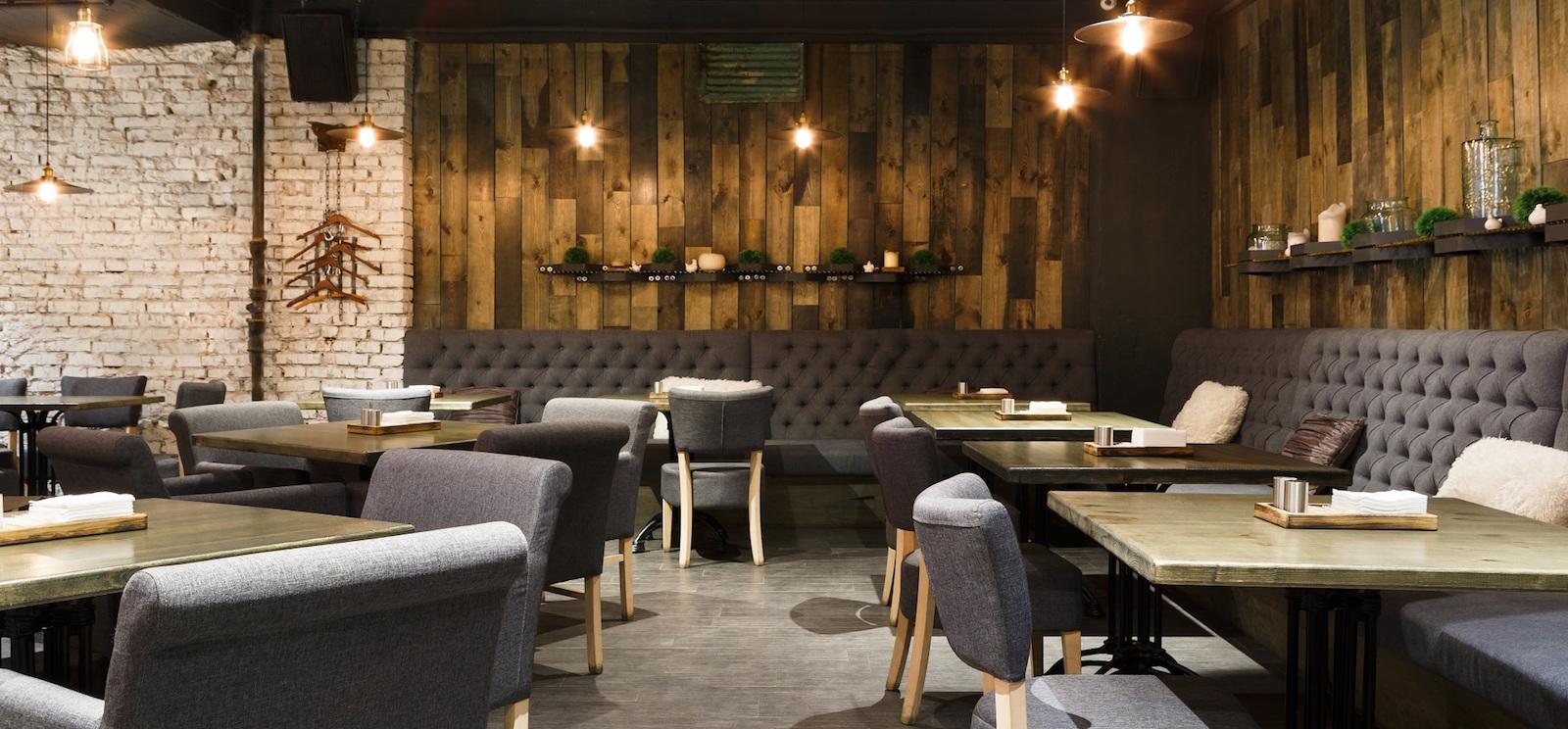 La sala di un ristorante, a rappresentare le competenze acquisibili da chi segua un corso di restaurant management.