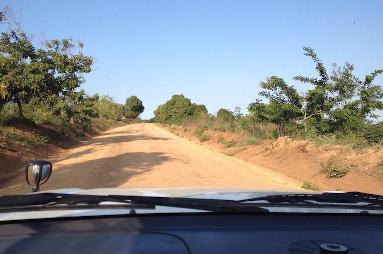 Una delle strade che da Iringa porta al parco nazionale che abbiamo visitato.