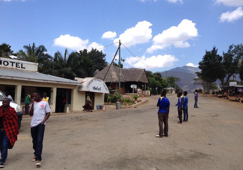 Un villaggio nei pressi di Iringa, in Tanzania, dove come executive chef mi sono occupato dell'apertura di un ristorante.